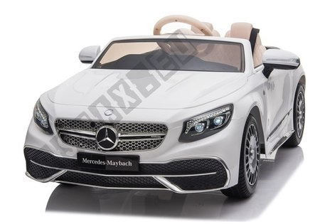 Mercedes Maybach Electric Ride On Car - White