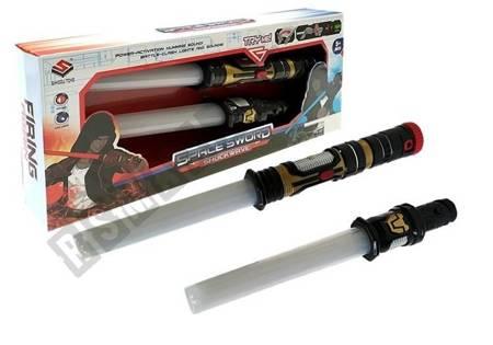 Miecz Świetlny Podwójny 2w1 Dźwięk Światło