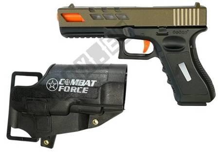 Military Toy Set Soft Bullet Pistols Glock MP7