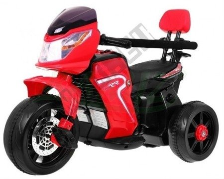 Motor vehicle/Bike red