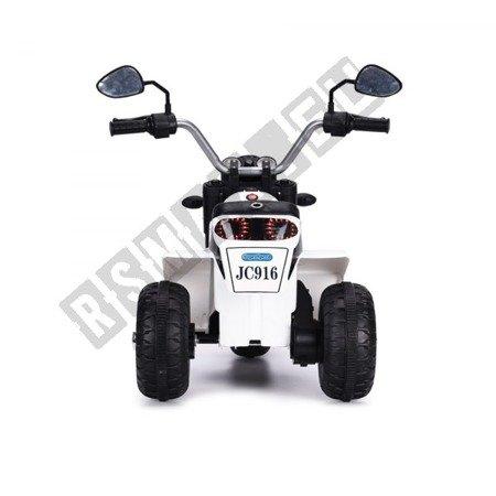 Motorbike on the battery  MiniBike white !