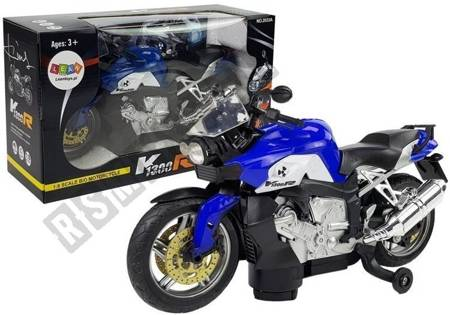 Motorcycle Blue Battery Powered
