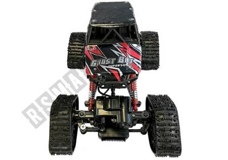 Offroad R/C Car 4x4 Black with Thunder Pattern