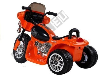 Orange Electric Ride On Motorcycle JT568