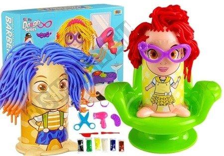 Play Dough Set Hairdresser Hair Squeezer