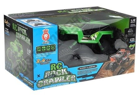 R/C Monster Car Jeep 1:12 Green