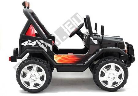 Ride On Car Jeep Raptor S618 EVA Black