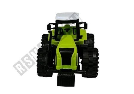 Set of Farmer Toy Tractor