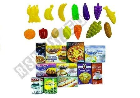 Shop Trolley + 25 Toy Food