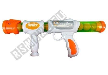 Soft Ball Gun Rifle Practice Your Aim Target Cups