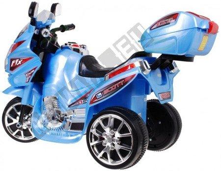Super Kids motorcycles battery blue