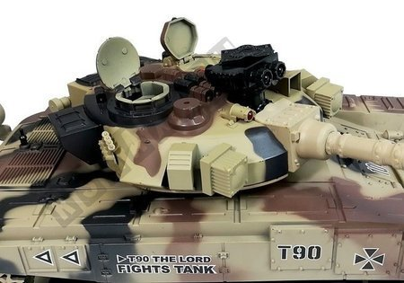 Tank R/C 1:16 Radio Control Bullet Gun Yellow