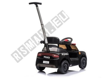 Toddlers Ride On Push Along with Parent Handle Black