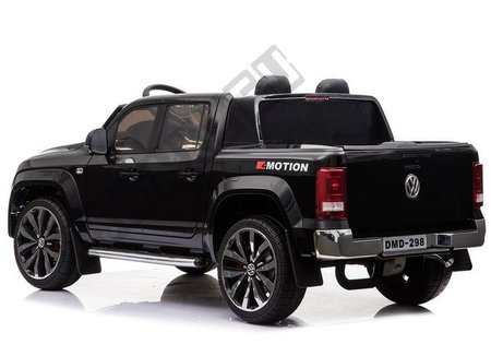 VW Amarok Black + MP4 - Ride on Car