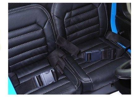 VW Amarok Blue + MP4 - Ride on Car