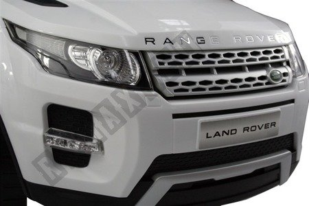 Vehicle LAND RANGER ROVER EVOQUE pusher white