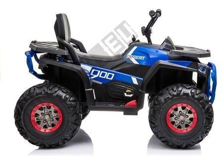 XMX607 Electric Ride On Quad - Blue