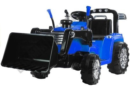 ZP1005 Blue - Electric Ride On Tractor