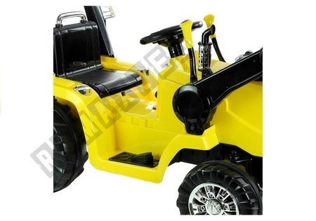 ZP1005 Yellow - Electric Ride On Tractor