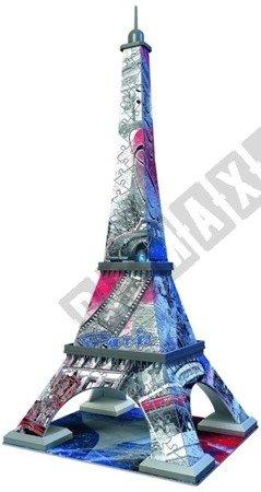 3D Puzzle Eiffelturm Flagge Edition 216 Elemente