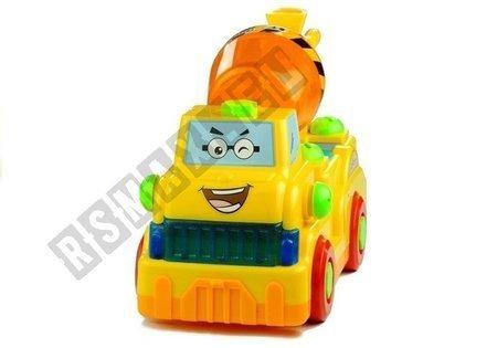 Betonmischer Montage Spielzeug + Schrauber Fahrzeug Set für Kinder