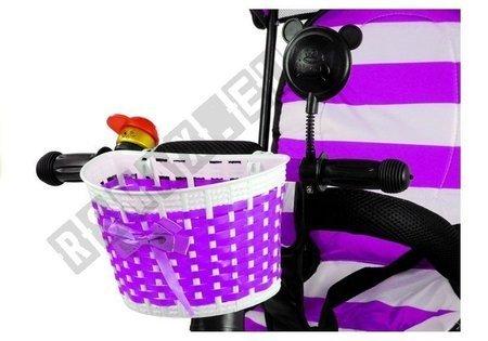 Dreirad PRO300 Violett EVA-Reifen Sonnendach Dreirad für Kind
