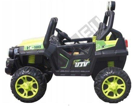 Ein Zwei-Personen-Auto für eine grüne 4x45W Buggy-Batterie