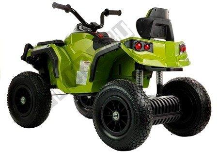 Elektro Quad BDM0906 Grün Ledersitz 2x45W 3 Geschwindigkeiten Fahrzeug