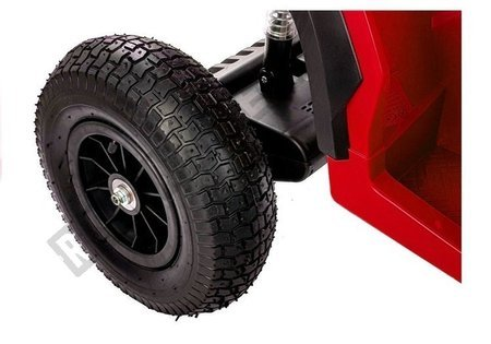 Elektro Quad BDM0906 Rot Ledersitz 2x45W 3 Geschwindigkeiten Fahrzeug