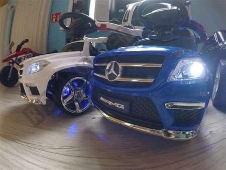 Fahrzeug-Schieber Mercedes GL63 AMG blau