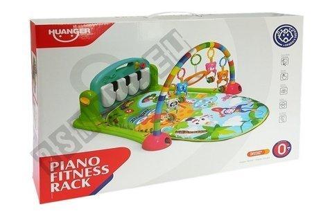 Interaktive Matte für Baby mit klavierblauer Farbe