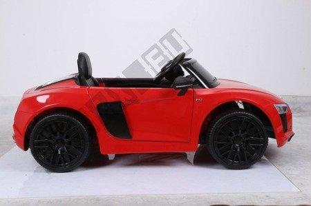 Kinderauto AUDI R8 SPYDER RS Lizenz Elektroauto Ledersitz EVA Neu 2017