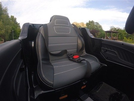 Kinderauto Mercedes Benz ML350 SUV Elektroauto Ledersitz EVA Neu 2017! Schwarz