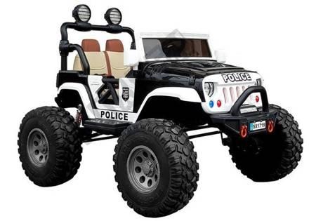 Kinderauto SX1719 Polizei Schwarz