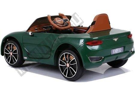 Kinderfahrzeug Bentley Grün lackiert Ledersitz EVA-Reifen Auto