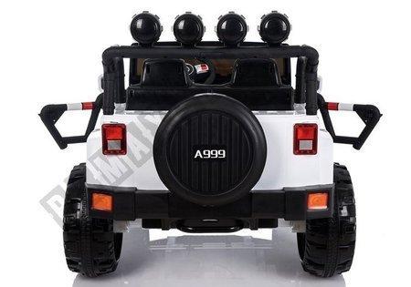 Kinderfahrzeug Jeep 4x4 A999 Weiß