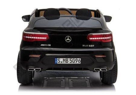 Kinderfahrzeug Mercedes GLC 63S Schwarz