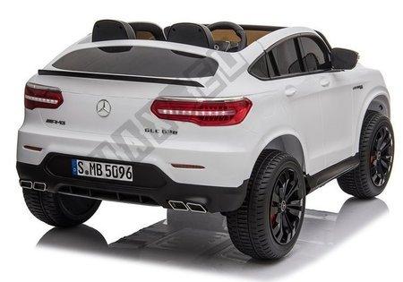 Kinderfahrzeug Mercedes GLC 63S Weiß