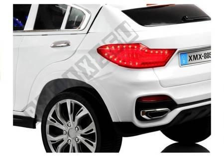 Kinderfahrzeug XMX805 Weiß 2x45W 2,4G Schalter am Lenkrad Kinderfahrzeug Auto