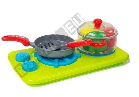 Küchenspüle mit Herd zum Küchenspiel mit Wasser