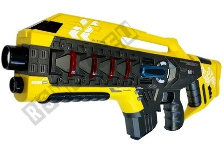 Laser Tag Rifle Set 4 Teams 2 Farben Rot Gelb