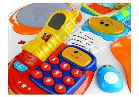 Lerntisch Piano bunte Lichter frohe Melodien Spielzeug für Baby Kind