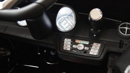 Mercedes SL500 Batterie 12V EVA schwarz lackiert