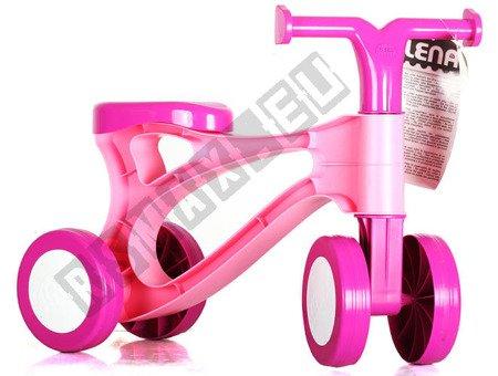 Mini-Bike, rosa drücken