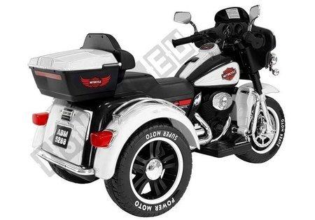 Motorrad ABM-5288 Weiß
