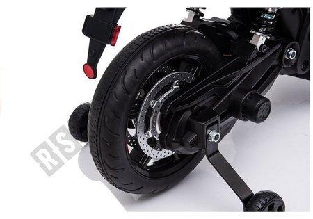 Motorrad Aprilia A007 Rot Ledersitz 2x45W
