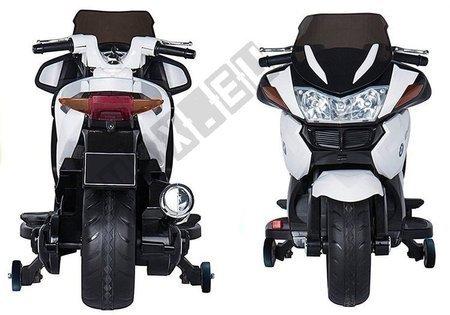 Motorrad HZB118 mit Akku Weiß 45W LED Frontscheinwerfer MP3, USB, SD