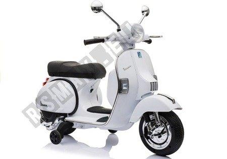 Motorroller Motorrad Vespa Weiß
