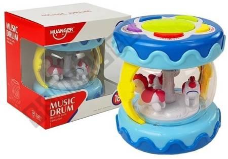 Pädagogische Trommel mit Karussell- und Tiergeräuschen