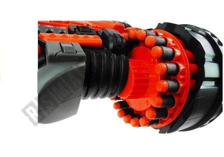 Pistole 80cm 20 Schaumstoffpatronen Set Spielzeug für Kinder ab 6 Jahren